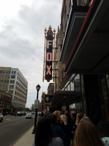 Exterior of the Fox Theater on Grand Ave. St Louis