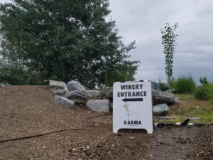 "The Karma Winery hosted concerts in its ""wine cave"""