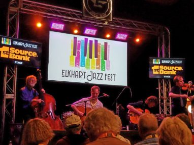 Faux Frenchmen perform at the Elkhart Jazz Festival