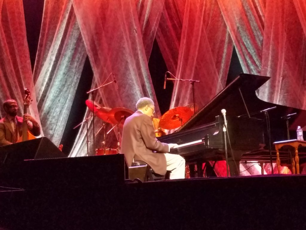 Ramsey Lewis performing on September 28, 2018 at Hoyt Sherman Place in Des Moines, Iowa